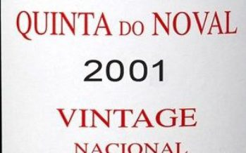 Noval lança o Vintage Nacional 2001