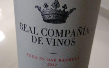 Real Compañia de Vinos Tempranillo Aged 2012