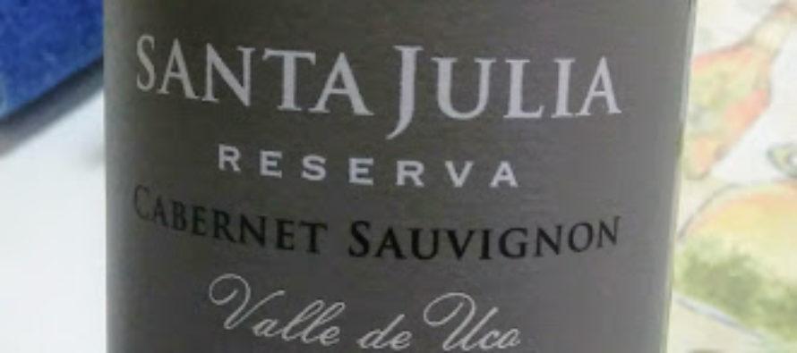 Santa Julia Reserva Cabernet Sauvignon 2015