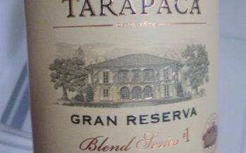Tarapacá Gran Reserva Blend Series, fruto da precisão