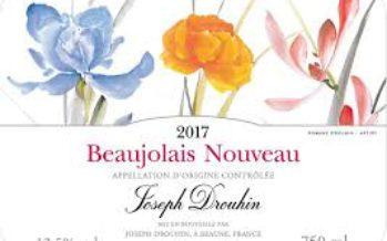 O Beaujolais Nouveau 2017 chega dia 16 de novembro