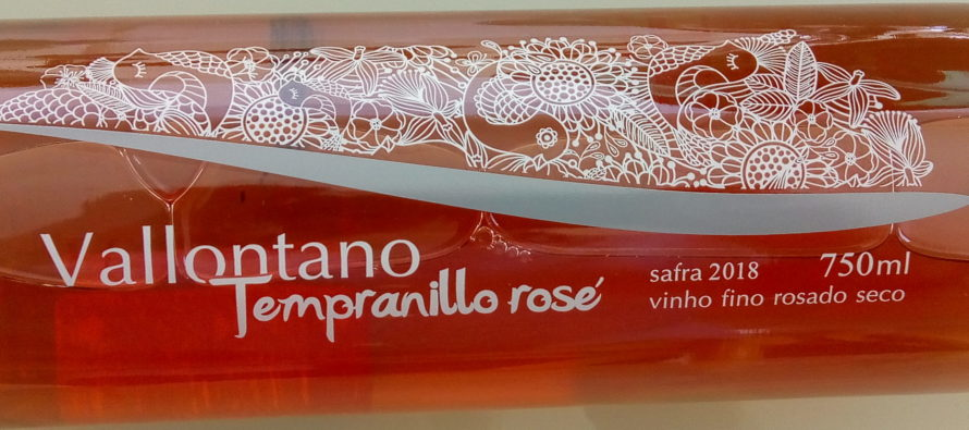O delicado e versátil Tempranillo Rosé 2018 da gaúcha Vallontano