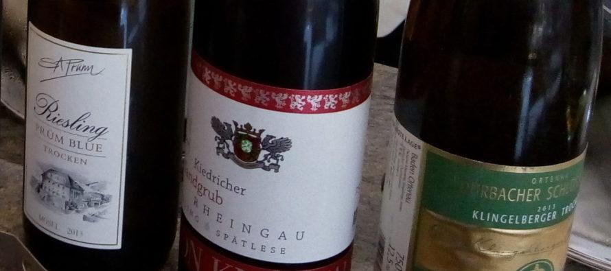 Riesling, uma das grandes uvas brancas do mundo, tem longa tradição na Alemanha