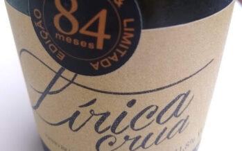 Espumante Lírica Crua 84 Meses, da Vinícola Hermann, chega ao mercado depois de sete anos com as borras